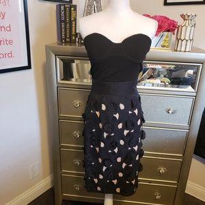 Catherine Malandrino Floral Skirt